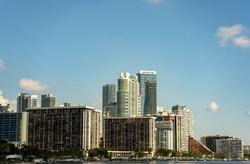 Photo of Brickell Miami highrise architecture