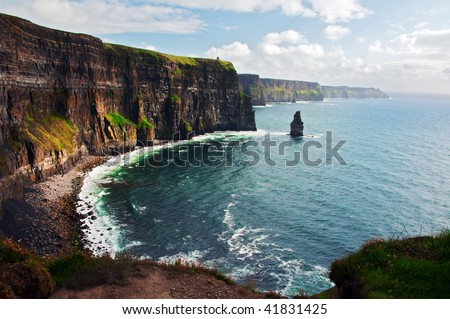 photo of cliffs of moher west coast ireland