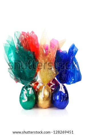 Photo of Colored Easter eggs