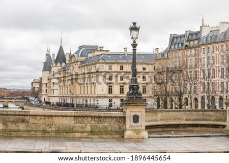 Photo of Conciergerie in Paris, France Photo stock ©