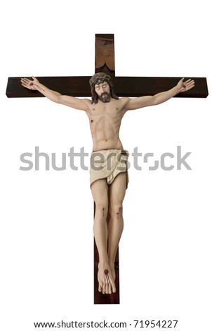 Photo of Crucifix , Statue of The crucified Jesus Christ