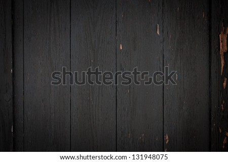 Photo of dark wood background textured