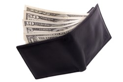 Photo of Dollars in a wallet