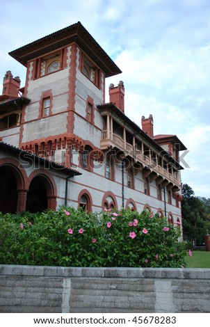 Photo of Flagler College in St. Augustine, Florida, USA