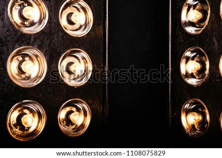 photo of Floodlights Flash lights.Spotlights #1108075829