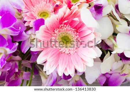 Photo of Floral bouquet of orchids