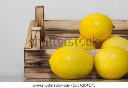 photo of fresh fruits and fresh lemons #1534284173