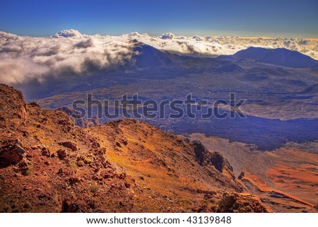 photo of Haleakala Crater, Maui, Hawaii