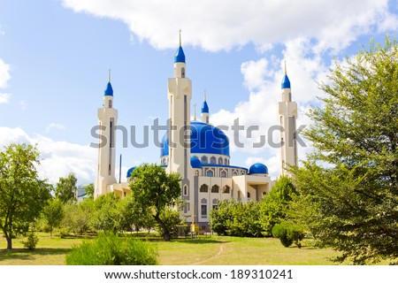 Photo of Islam mosque of South Russia