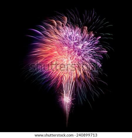 Photo of New Year celebration fireworks