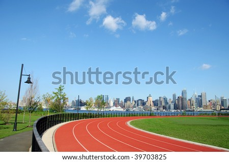 photo of new york city cityscape skyline, nyc, usa