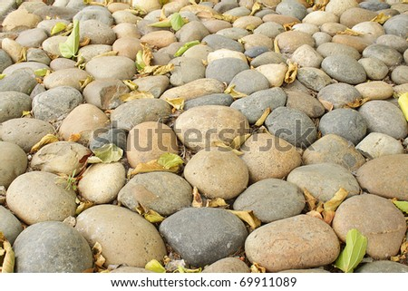Photo of pebbles, good as a background