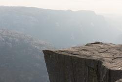 Photo of Preikestolen - the Pulpit Rock near Stavanger, Norway