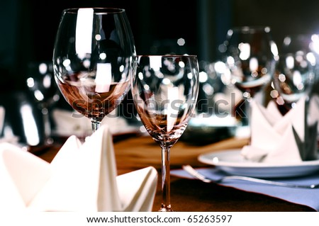 photo of professional restaurant serving #65263597