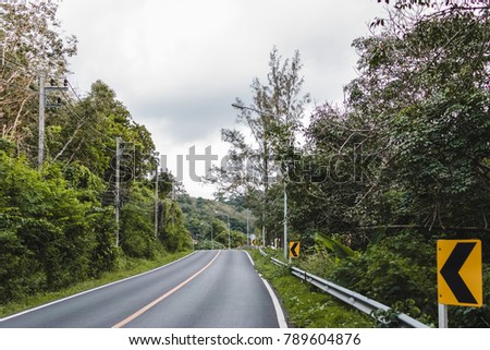 Photo of Road in Phuket Island, Thailand #789604876