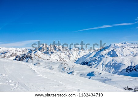 Photo of snowy landscape #1182434710