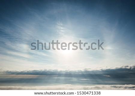 Photo of Sun Ray Sun Dog and Sun Halo #1530471338