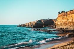 Photo of Sunset Cliffs in San Diego, California