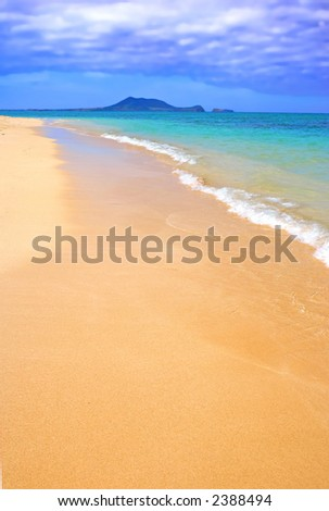 Photo of the beach - late afternoon at Oahu, Hawaii