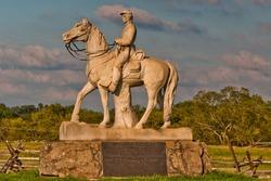 Photo of The 8th Pennsylvania Volunteer Cavalry Regiment Monument, Gettysburg National Military Park, Pennsylvania USA