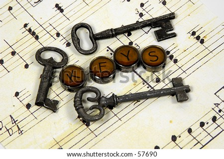 Photo of Various Types of Keys