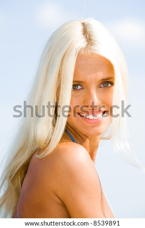 blonde hair grey eyes. armor - black hair - blonde hair - green eyes - grey eyes