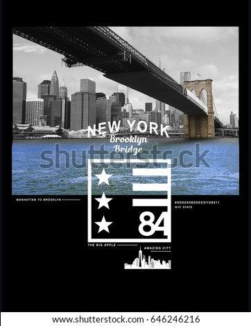 photo print brooklyn bridge...
