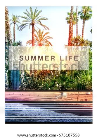 photo print california beach...