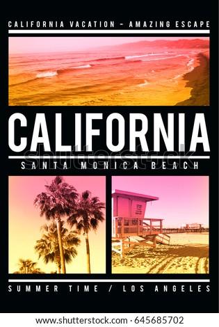 photo print california santa...