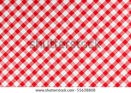 photo shot of checked fabric , tablecloth texture