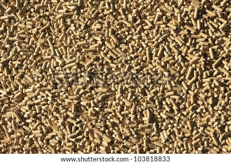 photo shot of wooden pellets background