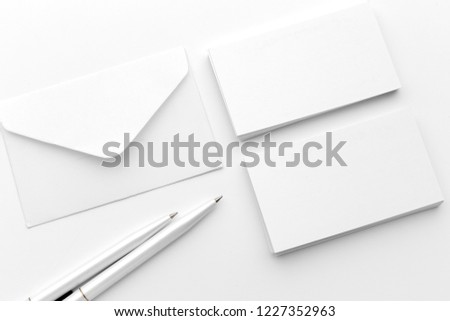Photo. Template for branding business  identity. For graphic designers presentations #1227352963