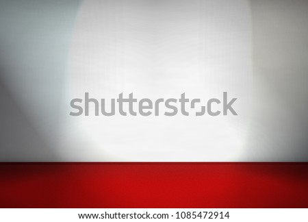 Photo wall with red carpet #1085472914
