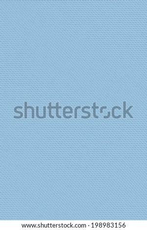 Photograph of artificial leather, bright Powder Blue texture sample