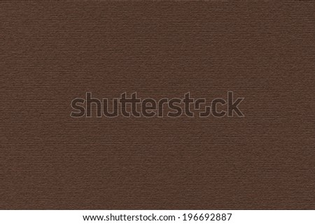 Photograph of artist\'s coarse grain dark brown pastel paper texture sample