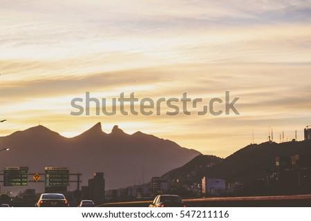 Shutterstock Photograph of Cerro de la Silla mountain in Monterrey Mexico city