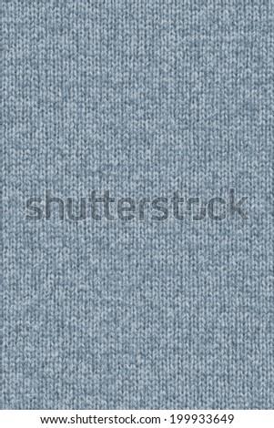Photograph of dark, Pale Powder Blue, woven woolen fabric, grunge texture sample