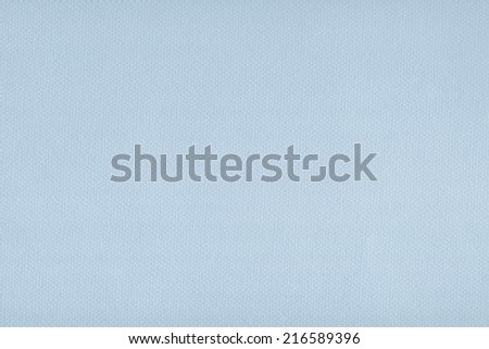 Photograph of light, Powder Blue recycle paper, extra coarse grain, grunge texture sample.