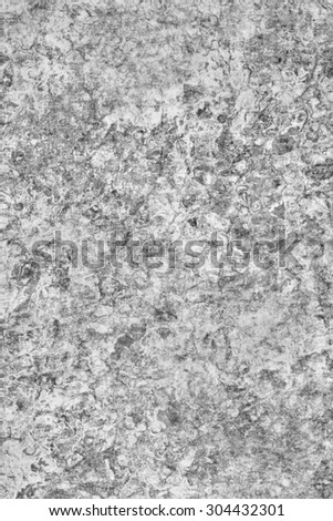 Photograph of old Gray animal skin parchment, creased, coarse grained, grunge texture sample.