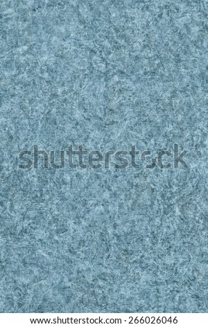 Photograph of Recycle Striped Powder Blue Pastel Paper, bleached, mottled, coarse grain, grunge texture sample.