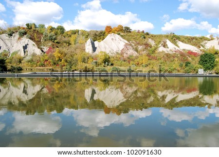 Photograph taken east of Toronto, Canada / Autumn Reflections