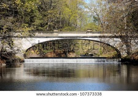 Photograph taken near Hyde Park, New York / Falls Bridge