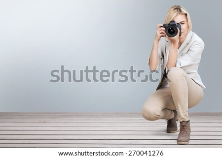 Photographer, Camera, Women.