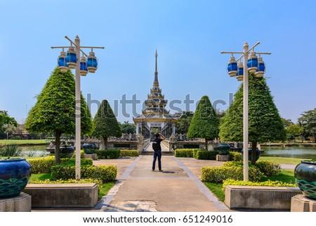 photographer travel Autthayan Chalerm Karnchanapisek in nontaburi Thailand Stock fotó ©
