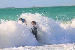 photographers taking photos at the beach in Dubai