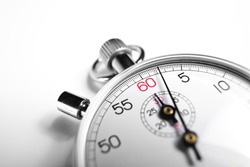 Photography of close-up Stopwatch