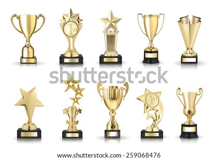 photos collection of stars awards and trophy cups