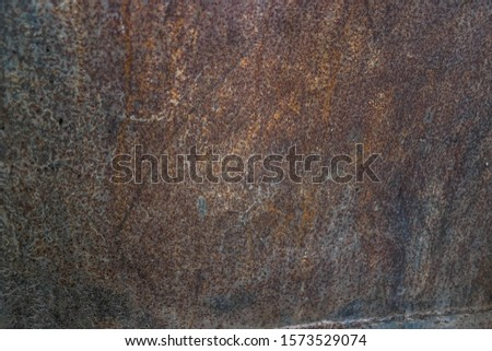 Photos of rusted surfaces on metal surfaces