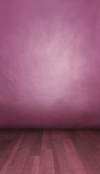 Photoshoot background. Pink backdrop in portrait mode ideal for children fashion clothes ready for a product placement or model photoshoot