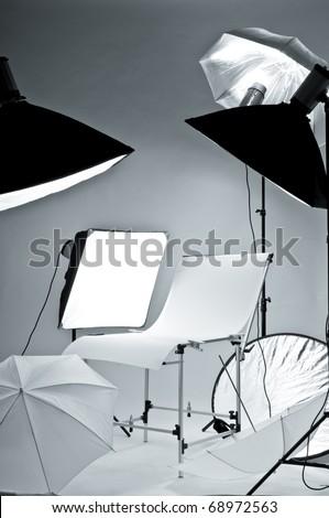 Photostudio equipment